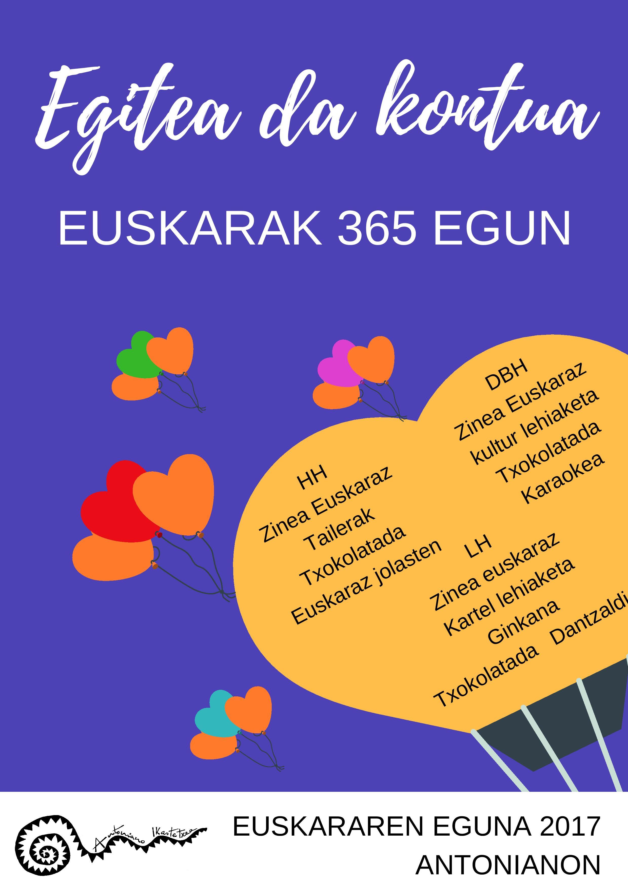 Euskararen Eguna Antonianon (abenduak 3)