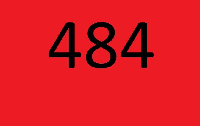 Número premiado: 484