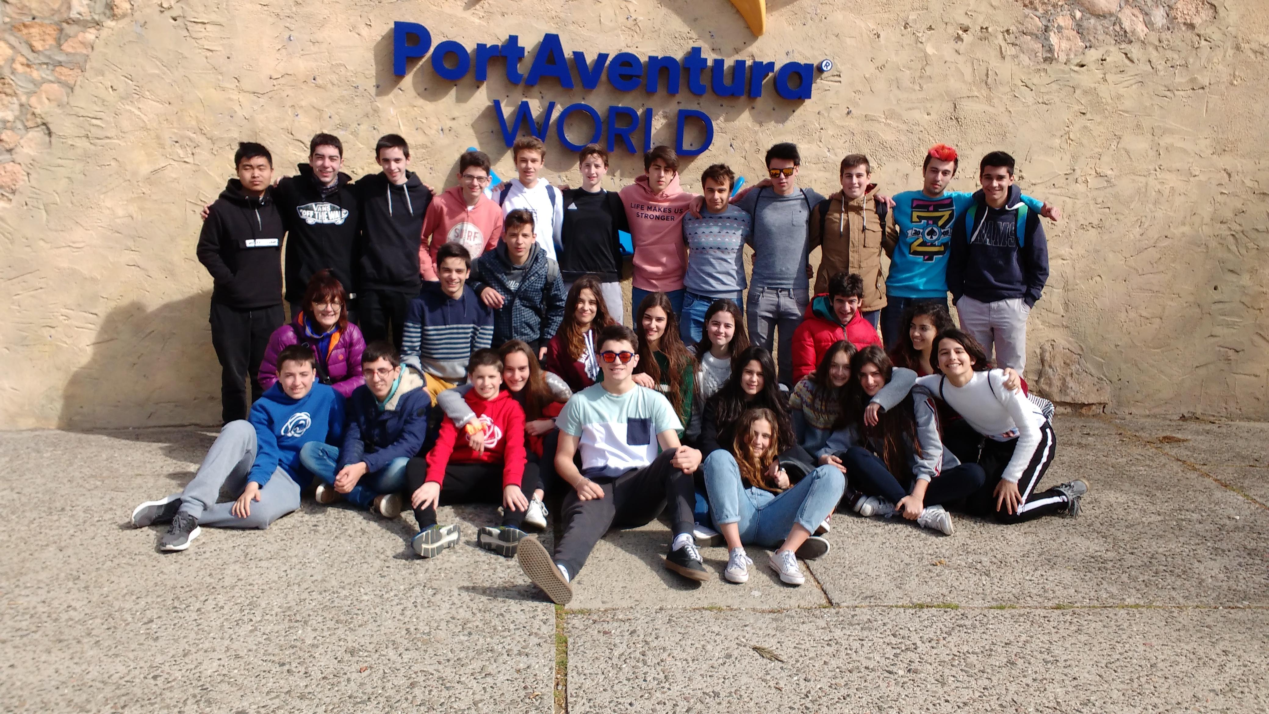 Los alumnos de 4 de ESO de viaje