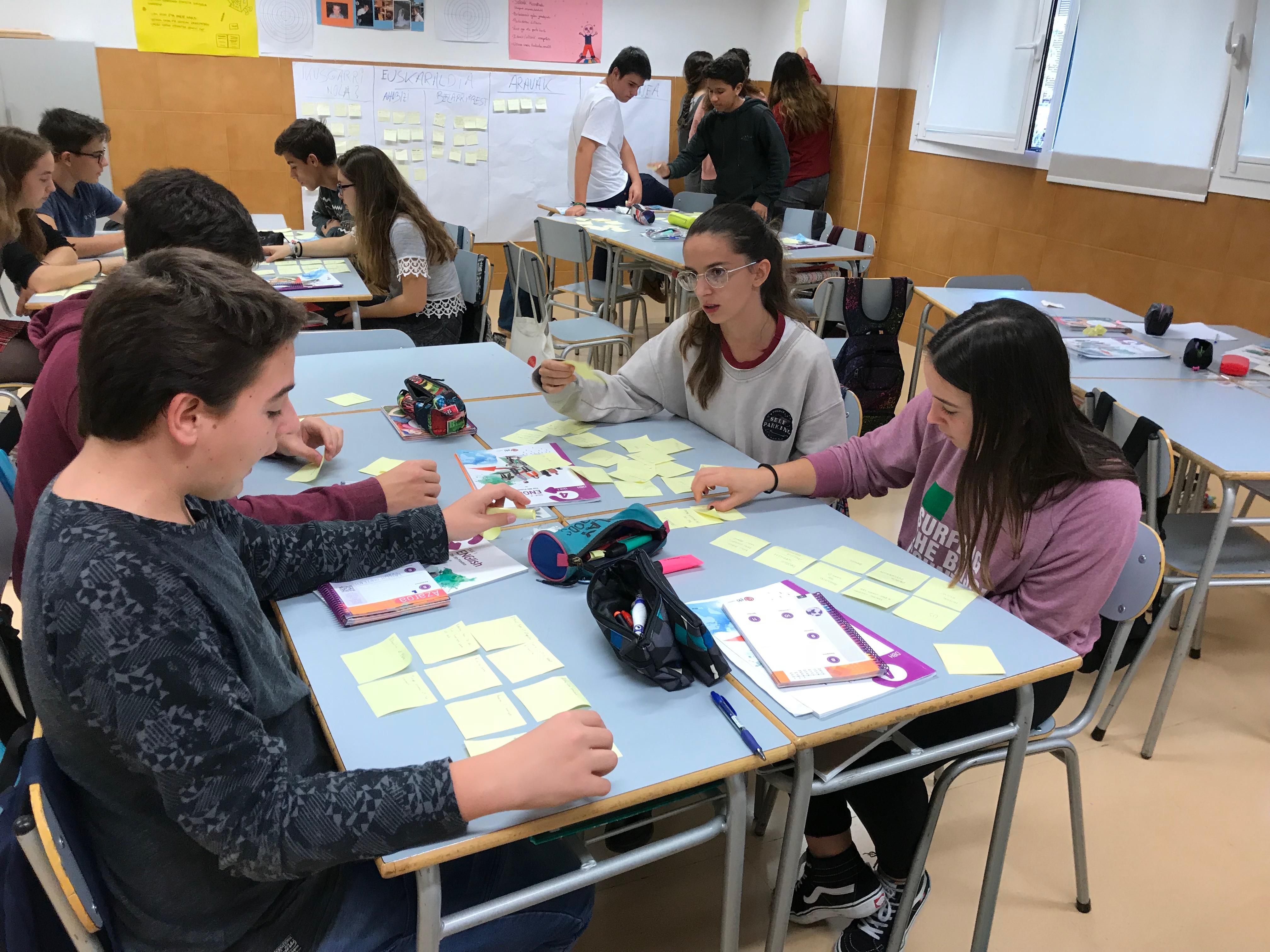 Nuestros alumnos 4º de ESO en la primera fase del proyecto Erasmus+