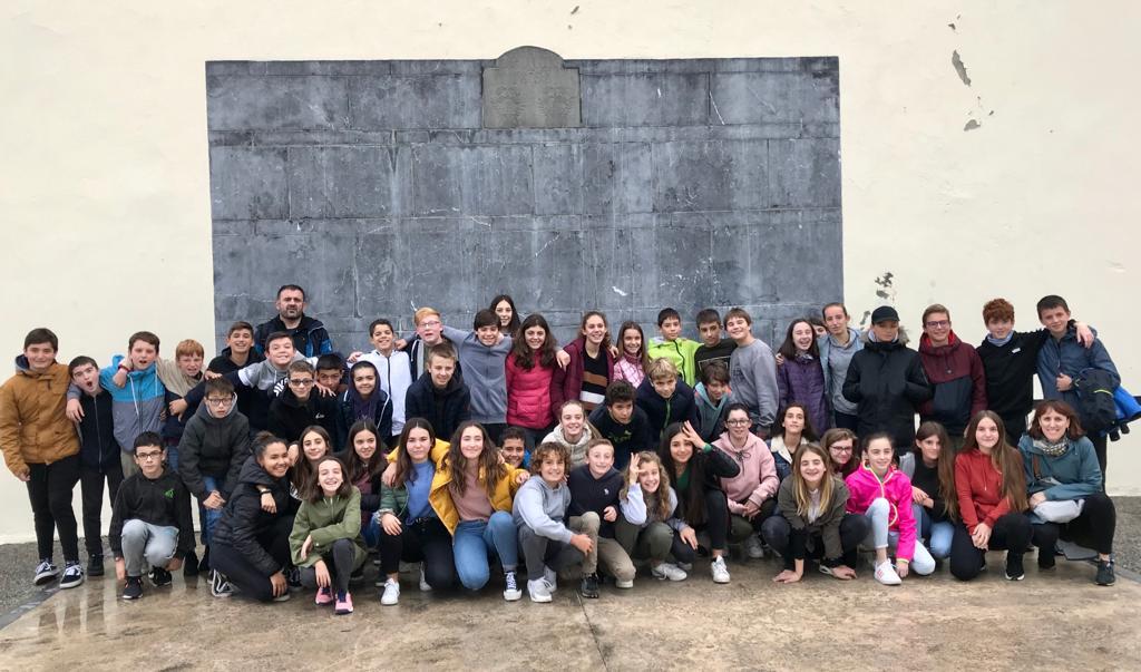Intercambio Baiona-Zarautz 2019