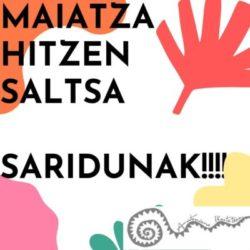 MAIATZA HITZEN SALTSA SARIDUNAK!