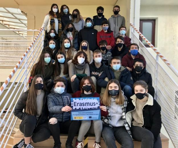 """""""Erasmus+"""" también en época de pandemia"""