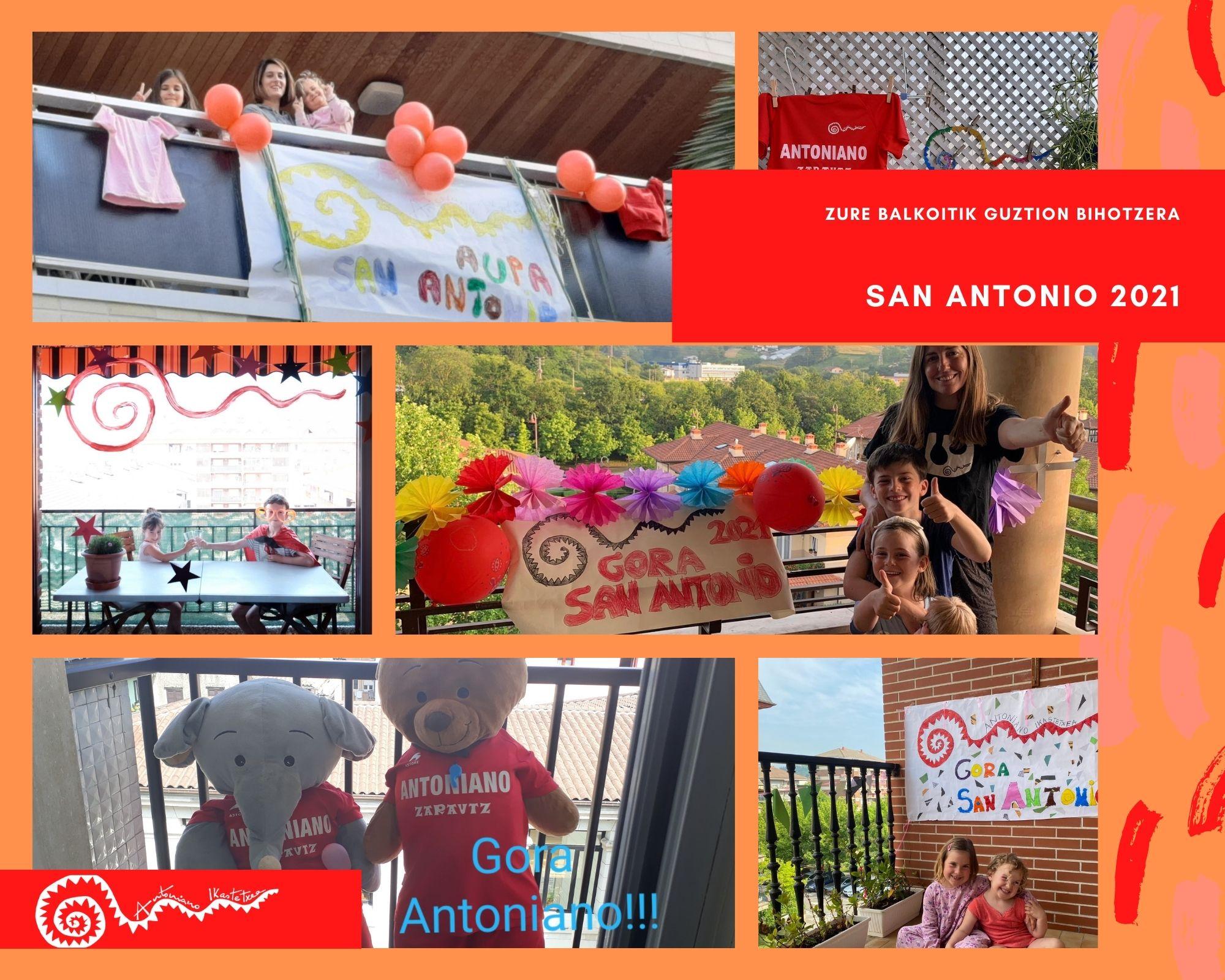 San Antonio balkoi eta leiho lehiaketa